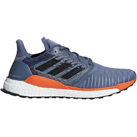 adidas SolarBoost Running Shoes Men Teck Ink/Grey Two/Hi-Res Orange